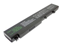 MicroBattery 6 Cell Li-Ion 11.1V 5.2Ah 58wh Laptop Battery for DELL MBI52404 - eet01