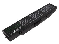 MBI54048 MicroBattery 6 Cell Li-Ion 11.1V 4.8Ah 53wh Laptop Battery for Sony - eet01