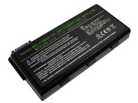 MicroBattery 6 Cell Li-Ion 11.1V 4.4Ah 49wh Laptop Battery for MSI MBI55322 - eet01