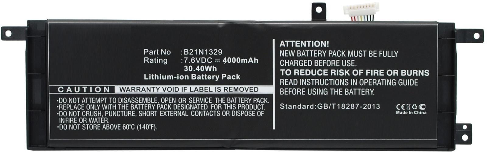 MicroBattery Laptop Battery for Asus 30.4Wh Li-ion 7.6V 4000mAh MBXAS-BA0134 - eet01