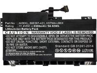 MicroBattery Laptop Battery for HP 94.62Wh Li-ion 11.4V 8300mAh MBXHP-BA0074 - eet01