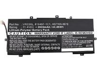 MicroBattery Laptop Battery for HP 44.46Wh Li-Pol 11.4V 3900mAh MBXHP-BA0078 - eet01