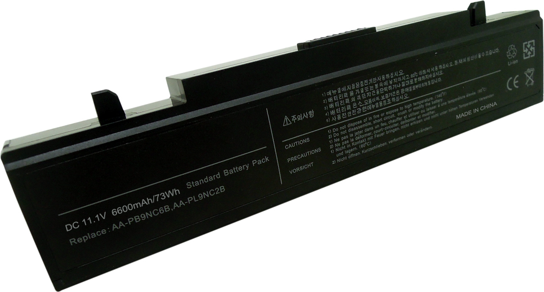 MicroBattery Battery for Samsung Laptop 73Wh 9 Cell Li-ion 11.1V 6.6Ah MBXSA-BA00138 - eet01
