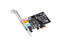 MicroConnect 5.1 Channels PCIe sound card Main chip : CMI 8738 MC-CMI6CH-PCIE - eet01