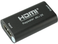 MicroConnect 4K HDMI Repeater Support HDMI 1.4b MC-HDMIREPEATER4K - eet01