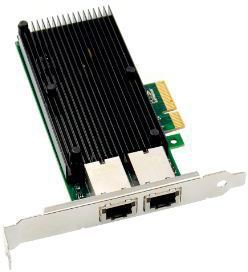 MicroConnect PCIe x4 Dual RJ45 10 GbE X550 Network Adapter MC-PCIE-X550 - eet01