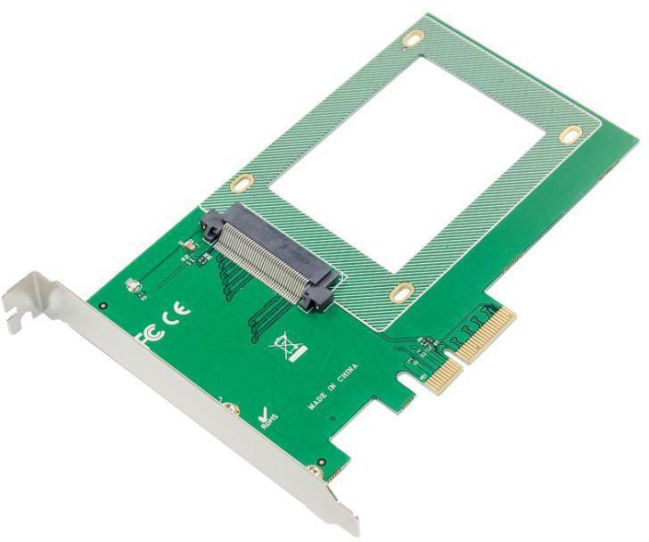 """MicroConnect PCIe x4 U.2 SFF8639 2.5"""" SSD NVMe SSD Adapter MC-SFF8639-2.5SSD - eet01"""