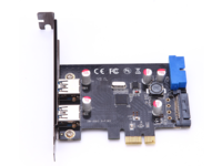 MicroConnect 4 port USB 3.0 PCIe card Main chip : VL805 MC-USB3.0-F2B2-V2 - eet01
