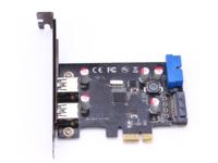 MicroConnect 3+1 port USB 3.0 PCIe card Main chip : VL805 MC-USB3.0-F2B2-V2 - eet01