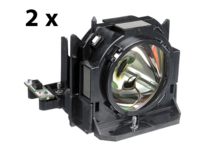 MicroLamp Projector Lamp for Panasonic 3000 Hours, 210 Watt Dual Lamp ML12478 - eet01