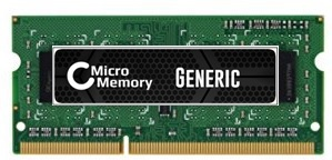 MicroMemory 4GB Module for Dell 1600MHz DDR3 MMDE016-4GB - eet01