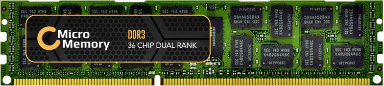 MicroMemory 16GB Module for Fujitsu 1600MHz DDR3 MMFUJ001-16GB - eet01