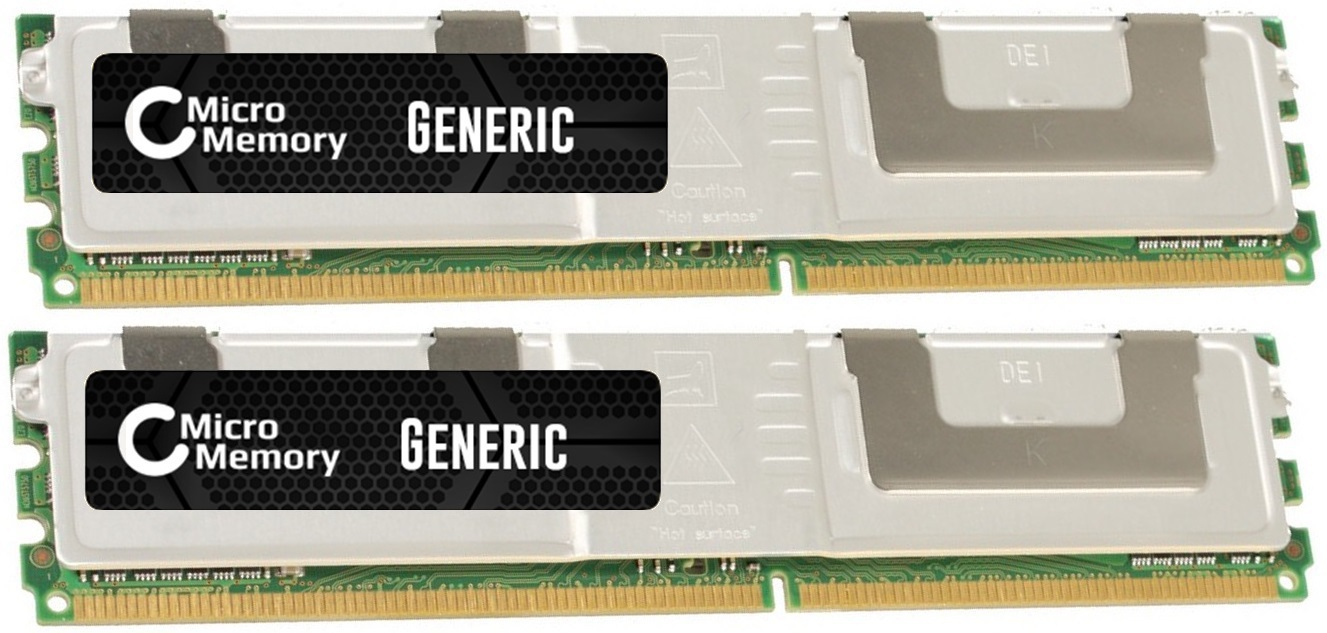 MicroMemory 4GB Module for HP 667MHz DDR2 Kit 2X2GB MMHP076-4GB - eet01