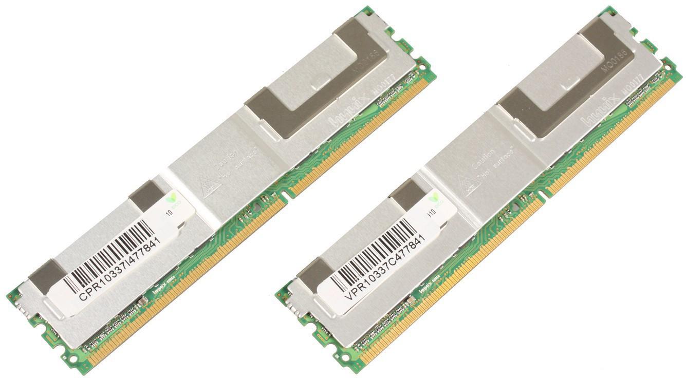 MicroMemory 8GB Module for HP 667MHz DDR2 Kit 2X4GB MMHP127-8GB - eet01