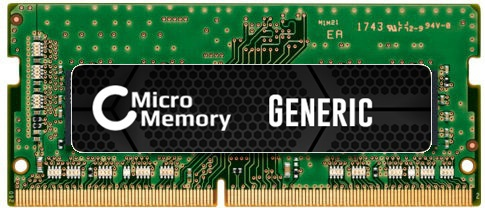 MicroMemory 4GB Module for HP 2400MHz DDR4 MMHP215-4GB - eet01