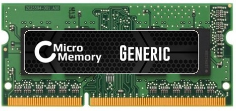 MicroMemory 2GB Memory Module 1333MHz DDR3 MMKN036-2GB - eet01