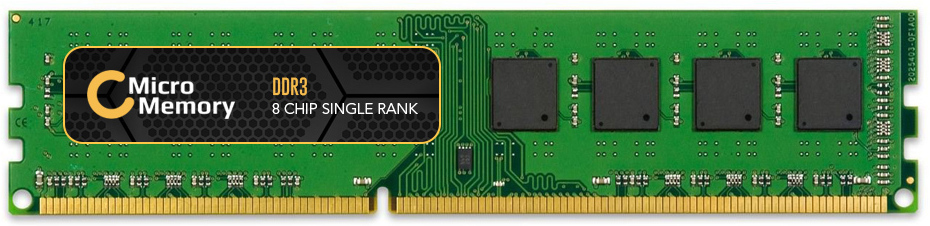 MicroMemory 4GB Memory Module 1600MHz DDR3 MMKN093-4GB - eet01