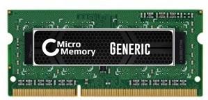 MicroMemory 4GB Module for Lenovo 1600MHz DDR3 MMLE007-4GB - eet01