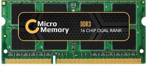 MicroMemory 4GB Module for Lenovo 1333MHz DDR3 MMLE043-4GB - eet01