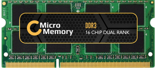 MicroMemory 4GB Module for Lenovo 1600MHz DDR3 MMLE050-4GB - eet01