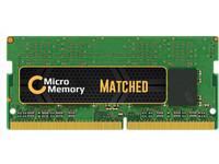 MicroMemory 8GB DDR4 2400MHz PC4-19200 1x8GB SO-DIMM memory modules MMXCR-DDR4SD0001 - eet01