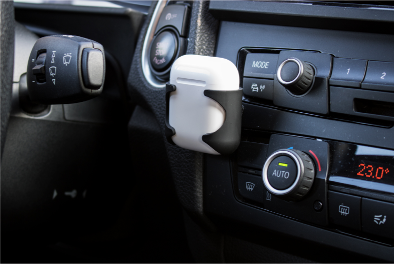 MicroSpareparts Mobile AIRPOD HOLDER Keeps your aipods stady & safe MOBX-ACC-010 - eet01