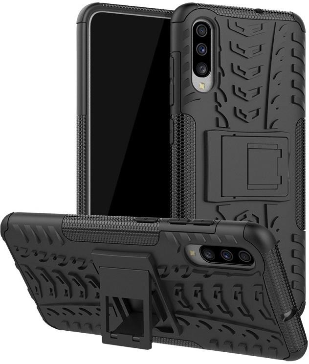 MicroSpareparts Mobile A70 Black Cover Samsung Galaxy A70 MOBX-COVER-A70-B - eet01