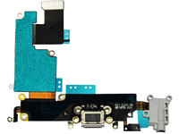 MicroSpareparts Mobile Charging dock port flex cable  MOBX-IP6P-INT-2 - eet01