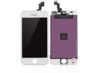 MicroSpareparts Mobile LCD for iPhone 5S White Copy LCD MOBX-IPC5S-LCD-W - eet01