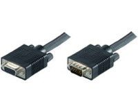 MONGH3 MicroConnect SVGA HD15 3m M-F Extension DoubleShielded - eet01