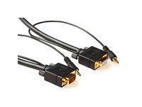 MicroConnect SVGA HD15 3m M-F. 3.5MM 2X 3.5MM 30CM & 30CM M-M MONGH3BMJ - eet01
