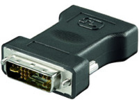 MONJK MicroConnect Adapter DVI 12+5 - HD15 M-F  - eet01