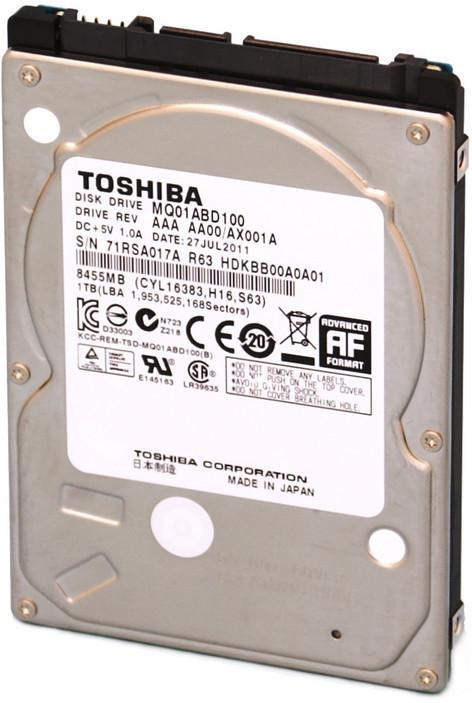 Toshiba 1TB 5400RPM 8MB 9,5MM SATA **Refurbished** MQ01ABD100-RFB - eet01