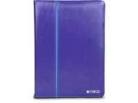 Maroo Leather Folio iPad Air 2 With SG Bumper Purple MR-IC5041 - eet01