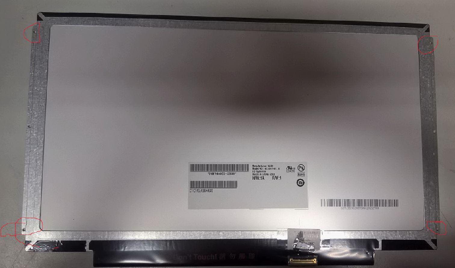 "MicroScreen 13,3"" LCD HD Glossy 1366x768 MSC133H30-030G - eet01"