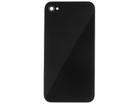MSPP1776 MicroSpareparts Mobile IPhone 4 Back Cover Black Black - eet01
