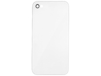MSPP1868 MicroSpareparts Mobile IPhone 4S Back Cover White  - eet01