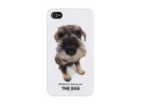 MSPP2200 MicroMobile IPhone 4/4S The Dog Theme Case Miniature Schnauzer - eet01