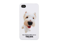 MicroMobile IPhone 4/4S The Dog Theme Case West Highland White Terrier MSPP2209 - eet01