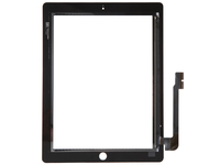MicroSpareparts Mobile Touch Panel Black iPad 3/4  MSPP2700 - eet01