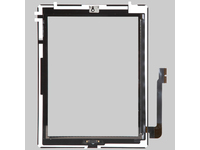 MSPP2701 MicroSpareparts Mobile TouchPanel Assambly Black IPad 3 - eet01