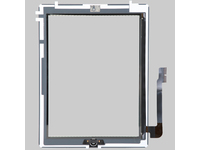 MSPP2703 MicroSpareparts Mobile TouchPanel Assambly White IPad 3 - eet01