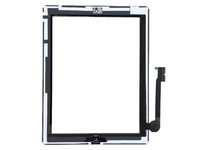 MSPP2720 MicroSpareparts Mobile Touch panel assembly White Apple iPad 4th gen - eet01