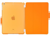 MicroMobile Snap on Cover+ Smart Cover Orange Transparant MSPP2762ASC - eet01