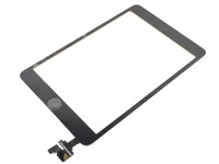 MicroSpareparts Mobile Touch panel Full Assembly With Control IC Black MSPP4025 - eet01
