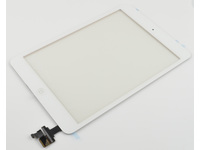 MicroSpareparts Mobile Touch panel Full Assembly With Control IC White MSPP4026 - eet01
