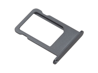 MSPP5002 MicroSpareparts Mobile Sim Tray Black iPhone 5  - eet01