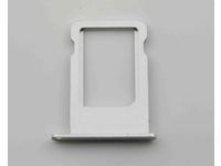 MSPP5107W MicroSpareparts Mobile SIM Card Tray White IPhone 5S - eet01