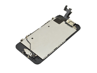 MicroSpareparts Mobile LCD with Digitizer and Frame Full Assembly Black iPhone 5S MSPP5120FA - eet01