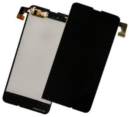 MicroSpareparts Mobile LCD and digitizer/Touch Black Nokia  Lumia  630 / 635 MSPPLN0064 - eet01